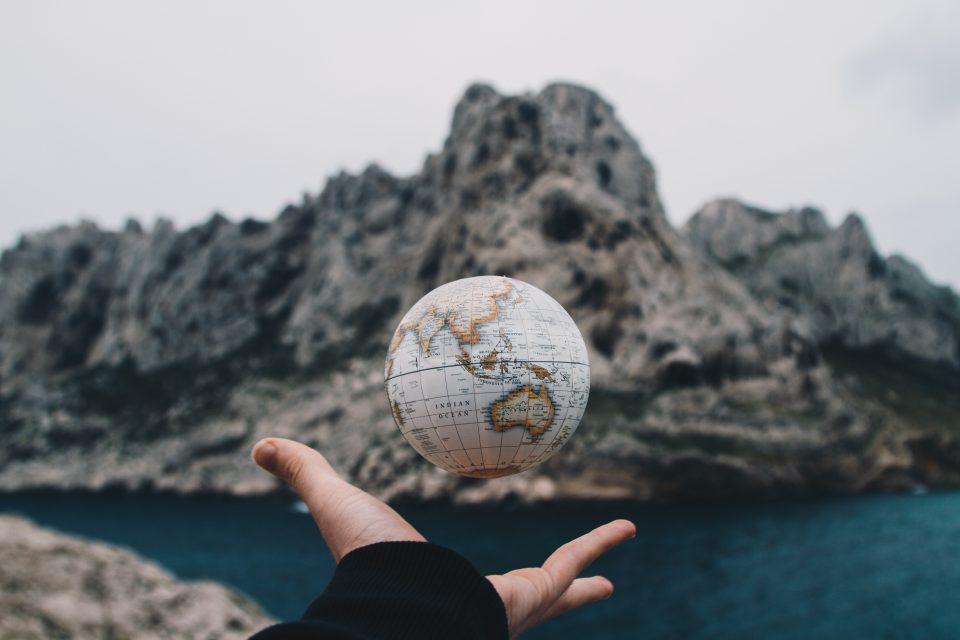die Welt in unserer Hand
